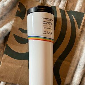 New Starbucks 2020 Pride Insulated Vaccum Tumbler